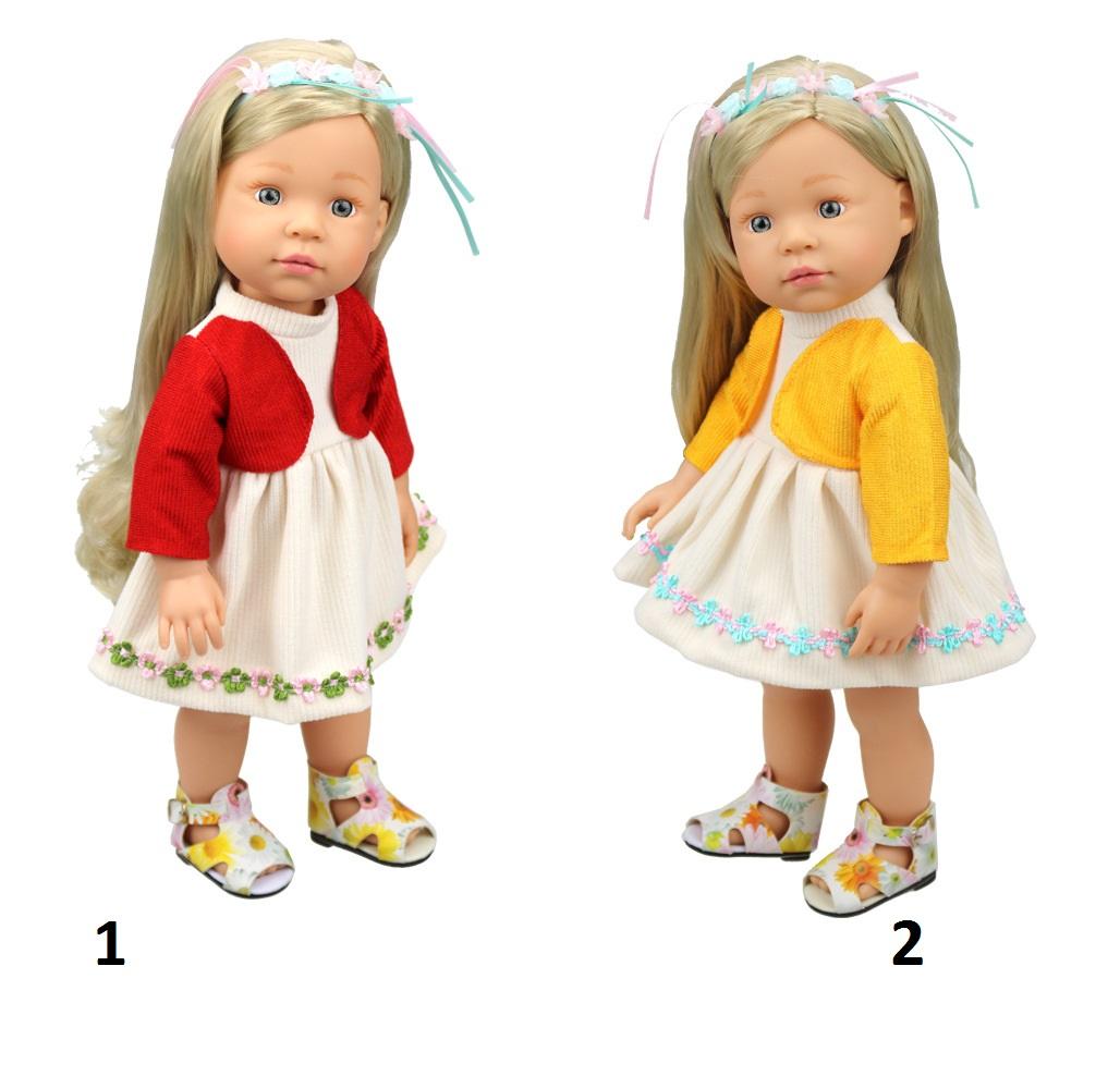 Одежда для кукол: платье с кофточкойОдежда для кукол<br>Одежда для кукол: платье с кофточкой<br>