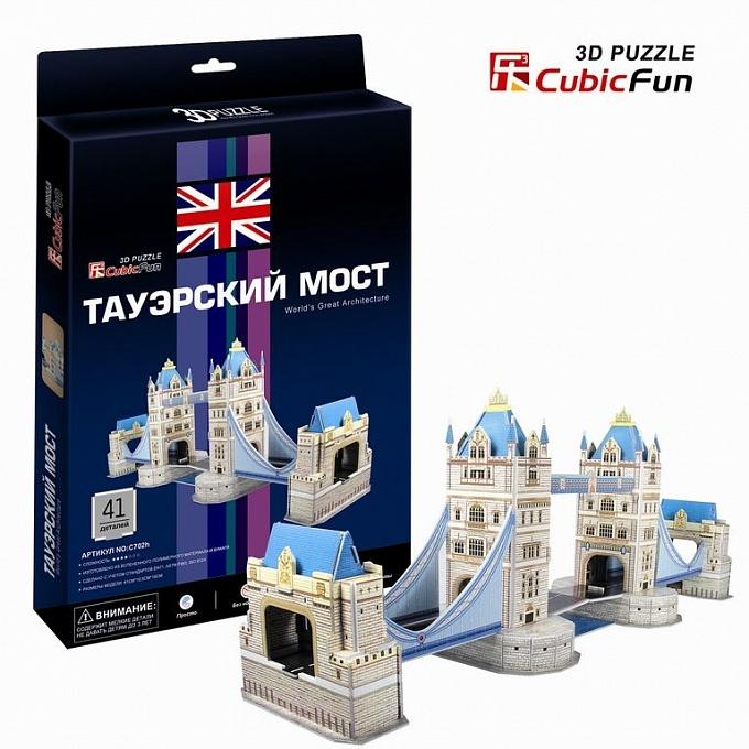 Купить Объёмный пазл серии Лондон, Таэурский мост, Cubic Fun