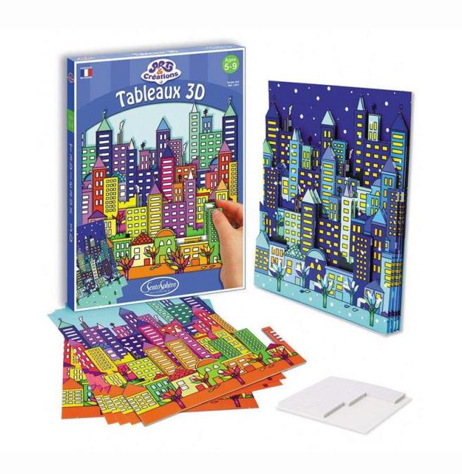 Набор для детского творчества – Город, SentoSpherE  - купить со скидкой