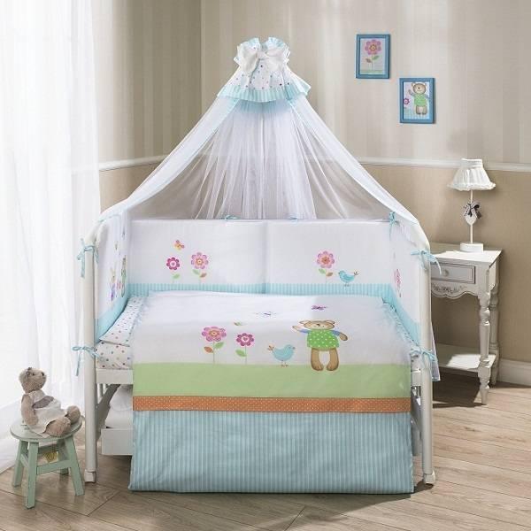 Комплект постельного белья для детей ГлорияДетское постельное белье<br>Комплект постельного белья для детей Глория<br>