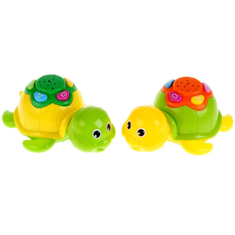 Купить Игрушка на батарейках - Черепаха, свет, звук, Zhorya