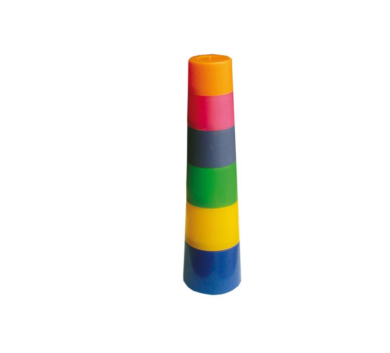 Развивающая игрушка Пирамида – Башня, 6 элементовСортеры, пирамидки<br>Развивающая игрушка Пирамида – Башня, 6 элементов<br>