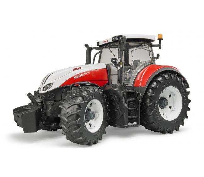 Трактор Bruder Steyr 6300 Terrus CVTИгрушечные тракторы<br>Трактор Bruder Steyr 6300 Terrus CVT<br>