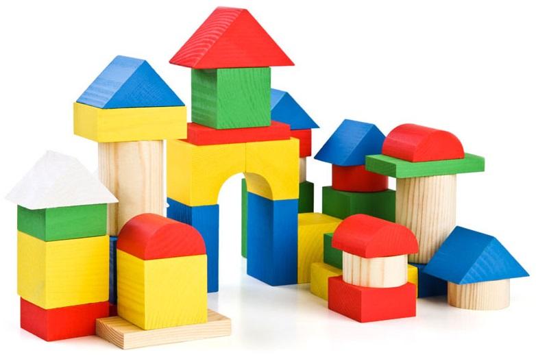 Конструктор - Цветной, 43 детали от Toyway