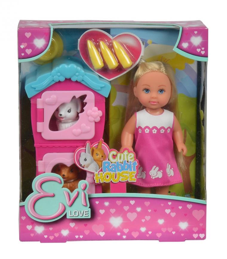 Купить Кукла Еви с кроликами, 12 см., Simba