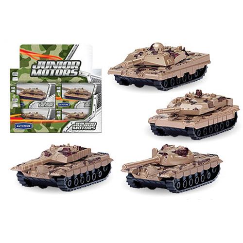 Игрушечный танк - Combat Defender, пустынный камуфляж, 1:50Военная техника<br>Игрушечный танк - Combat Defender, пустынный камуфляж, 1:50<br>
