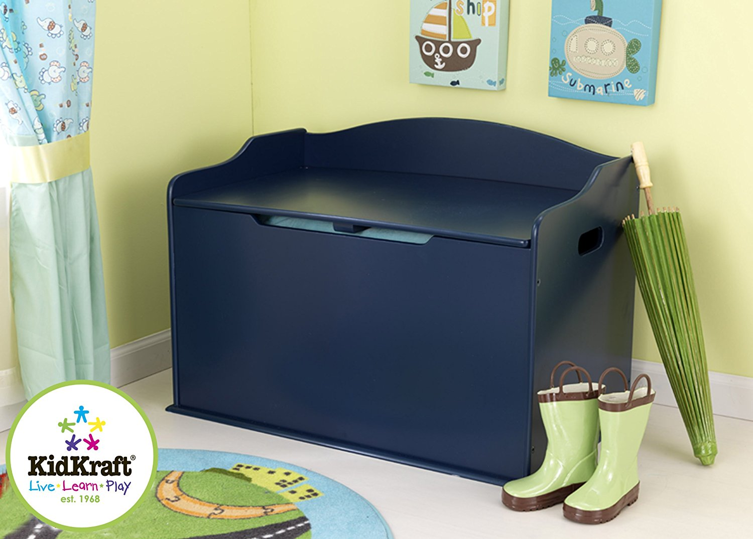 Ящик для хранения - Austin Toy Box, blueberryДекор и хранение<br>Ящик для хранения - Austin Toy Box, blueberry<br>