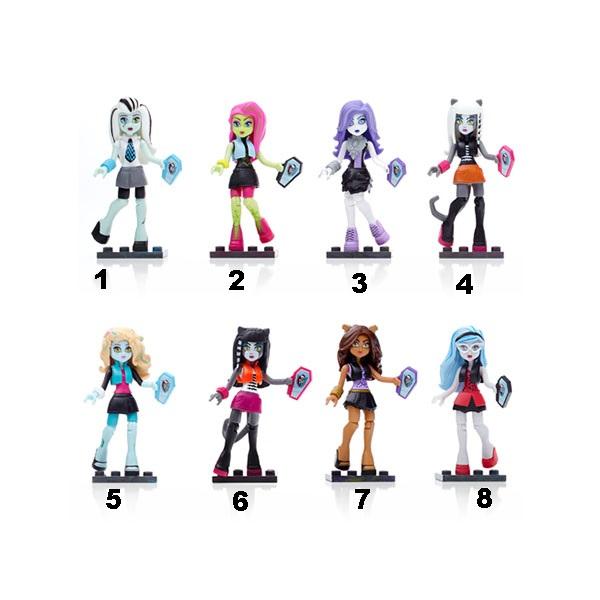 Базовые фигурки персонажей из серии Monster HighКуклы Ever After High и Monster High<br>Базовые фигурки персонажей из серии Monster High<br>