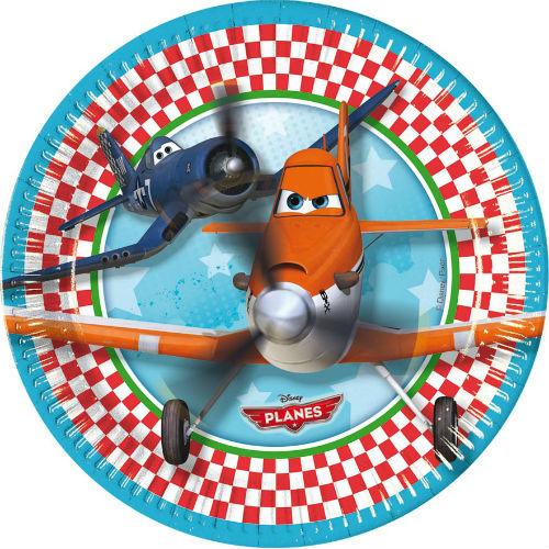 Набор тарелок – Самолеты, 8 штукСамолеты<br>Набор тарелок – Самолеты, 8 штук<br>