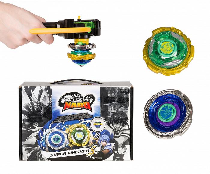 Купить Волчок Крэк Инфинити Надо - Super Whisker Небесный вихрь, TM Infinity Nado