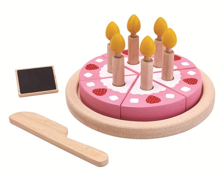 Купить Игровой набор деревянный – Торт, Plan Toys