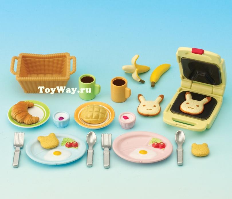 Набор  Завтрак  - Игрушки Sylvanian Families, артикул: 97511