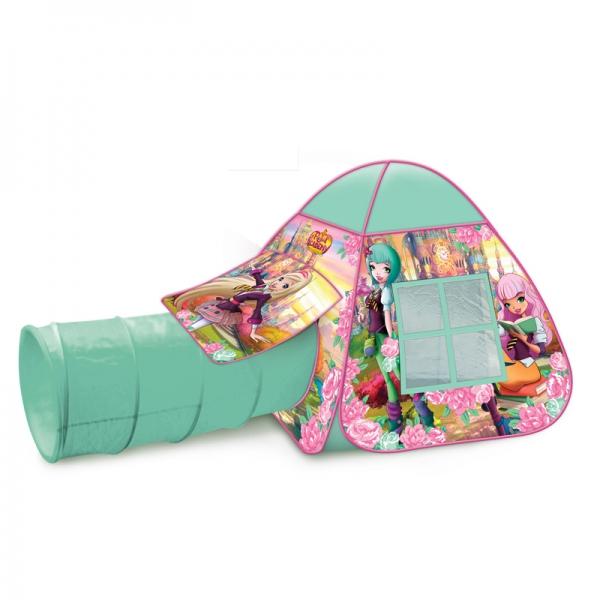 Купить Детская игровая палатка с тоннелем – Королевская Академия, Играем вместе