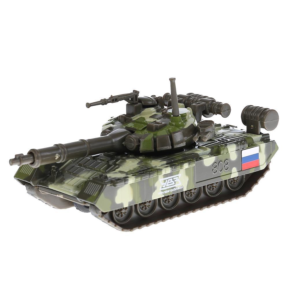 Купить Инерционный металлический Танк T-90, 12 см, Технопарк