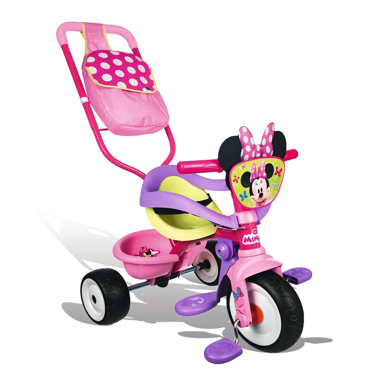Трехколесный велосипед трансформер с сумкой «Минни Маус»Велосипеды детские<br>Трехколесный велосипед трансформер с сумкой «Минни Маус»<br>