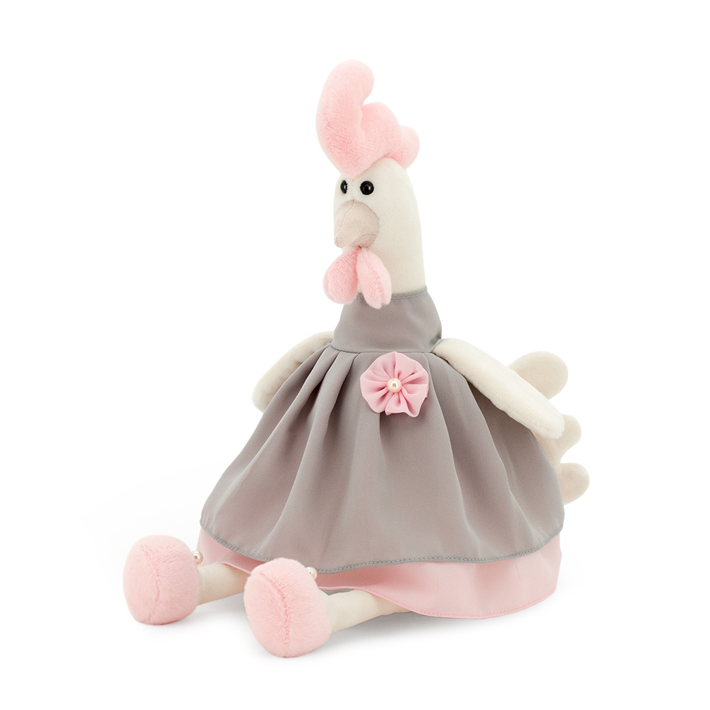 Мягкая игрушка - Курочка Алина, 35 смЖивотные<br>Мягкая игрушка - Курочка Алина, 35 см<br>