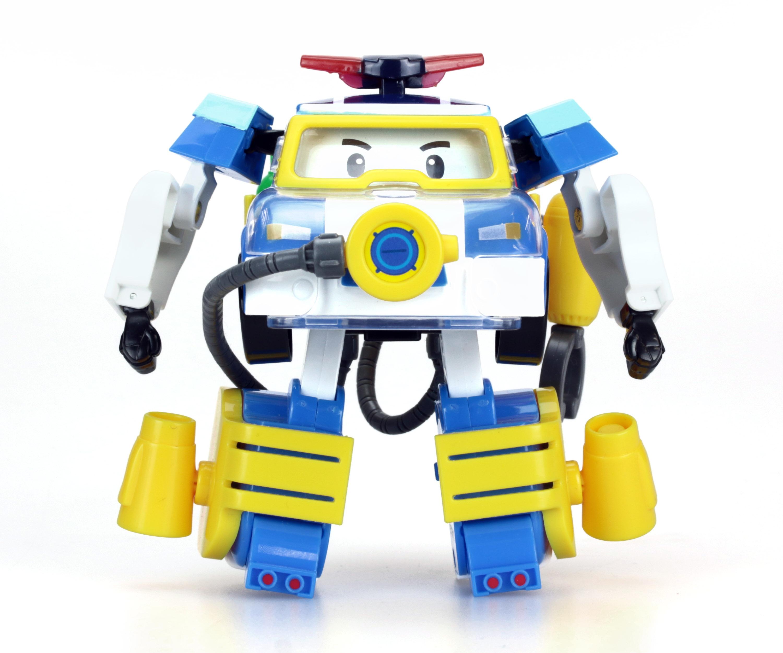 Трансформер Поли из серии «Робокар Поли», 10 см., с костюмом водолаза - Robocar Poli. Робокар Поли и его друзья, артикул: 135874