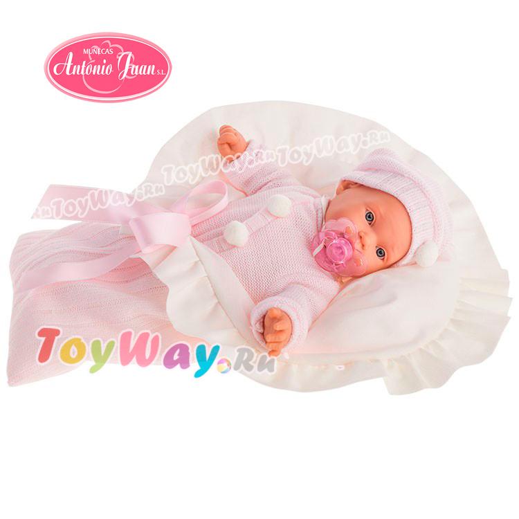 Кукла Ланита в розовом, плачущая., 27 см. от Toyway