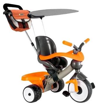 Детский трехколесный велосипед Coloma Comfort Angel Orange Aluminium, 3463RT