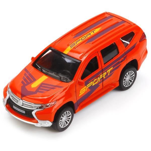 Купить Металлическая инерционная машина - Mitsubishi Pajero Sport, 12 см, Технопарк