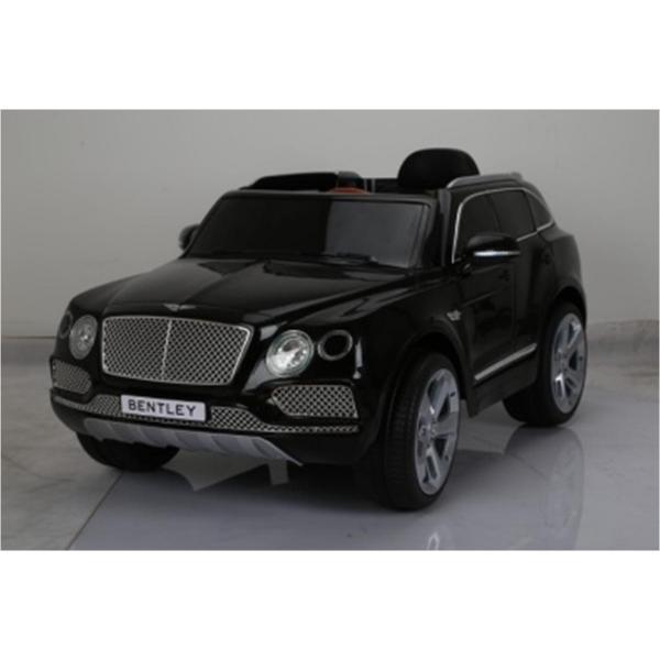 Джип Bentley Bentayga на 2 аккумуляторах 6V7AH, 2 мотора 35W, на радиоуправлении, свет и звук, черныйЭлектромобили, детские машины на аккумуляторе<br>Джип Bentley Bentayga на 2 аккумуляторах 6V7AH, 2 мотора 35W, на радиоуправлении, свет и звук, черный<br>