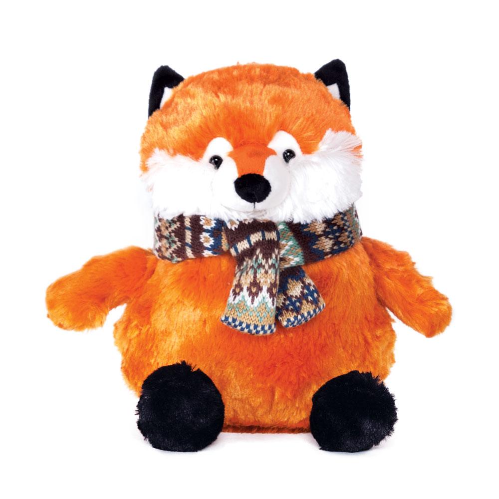 Мягкая игрушка - Лис в шарфике, 22 смДикие животные<br>Мягкая игрушка - Лис в шарфике, 22 см<br>