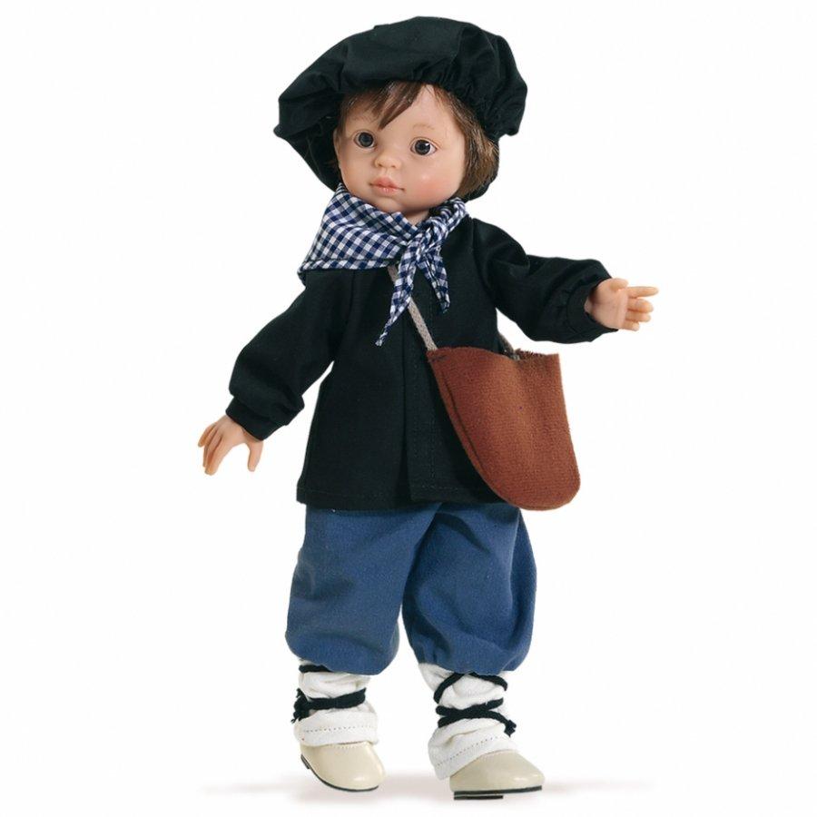 Kукла Оленчеро без бороды, 32 смИспанские куклы Paola Reina (Паола Рейна)<br>Kукла Оленчеро без бороды, 32 см<br>