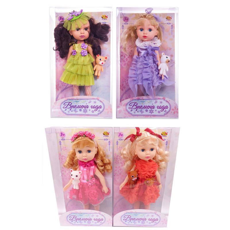 Кукла из серии Времена года, 4 вида, в прозрачной коробкеПупсы<br>Кукла из серии Времена года, 4 вида, в прозрачной коробке<br>