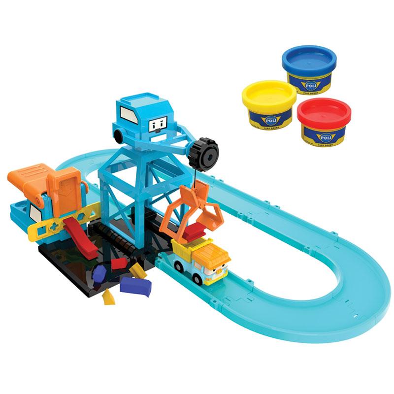 Игровой набор «Цементный завод»Robocar Poli. Робокар Поли и его друзья<br>Игровой набор «Цементный завод»<br>