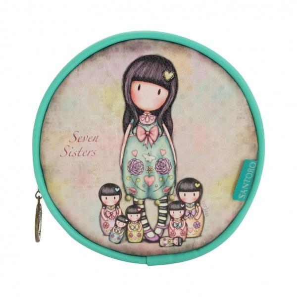 Купить Круглая сумка для аксессуаров - Seven Sisters, Santoro London