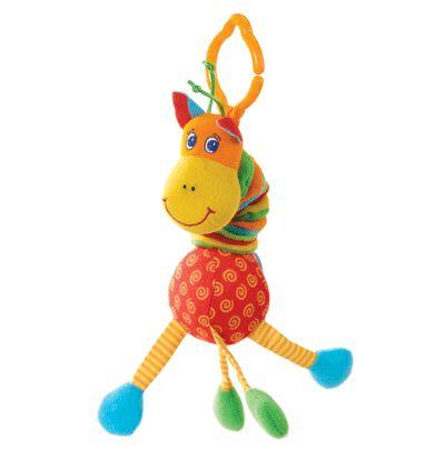 Жираф, подвесная игрушкаДетские погремушки и подвесные игрушки на кроватку<br>Забавная развивающая игрушка Жираф от компании Tiny Love. Этот смешной жираф отлично разовьет слуховые и зрительные навыки малыша, улучшит ...<br>