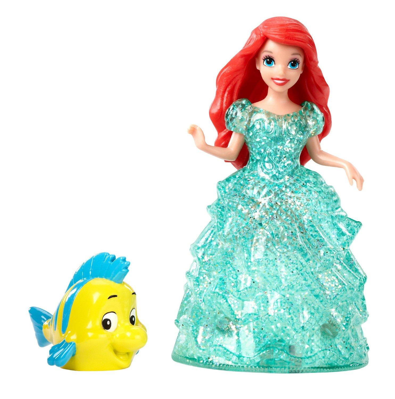 Кукла на колесиках из серии Disney Princess - Ариэль и ФлаундерАриэль<br>Кукла на колесиках из серии Disney Princess - Ариэль и Флаундер<br>