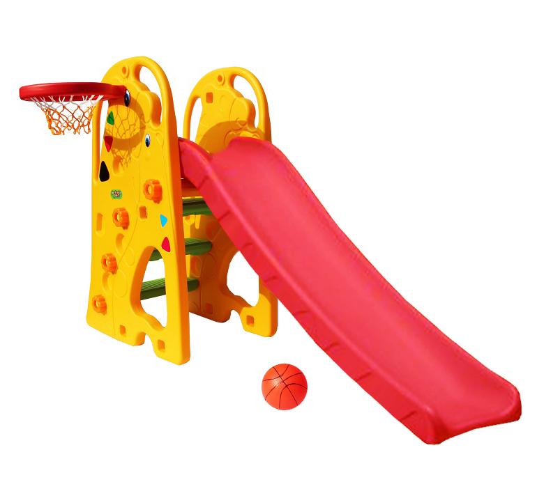 Горка и баскетбольное кольцо – Кенгуру