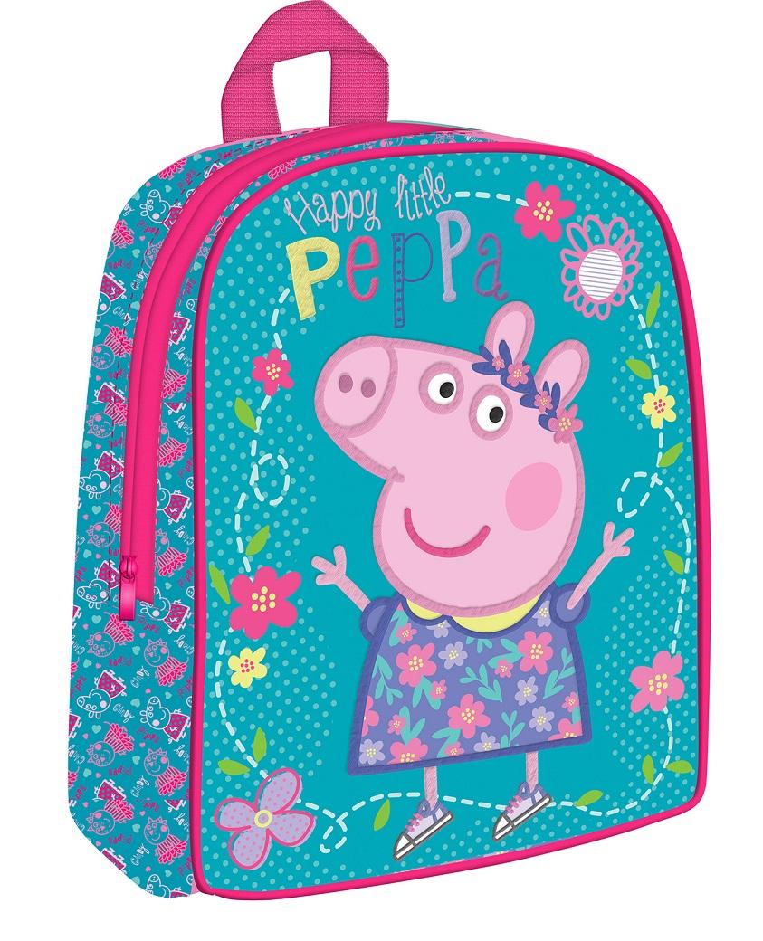 Рюкзачок средний Peppa Pig - УмницаСвинка Пеппа (Peppa Pig )<br>Рюкзачок средний Peppa Pig - Умница<br>