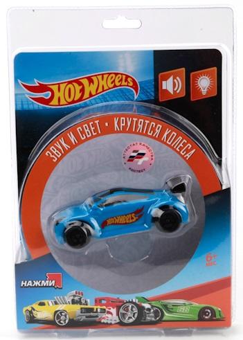 Машинка Hot Wheels, свет и звукМашинки для малышей<br>Машинка Hot Wheels, свет и звук<br>