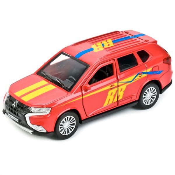 Металлическая инерционная машина - Mitsubishi Outlander Sport, 12 см, Технопарк  - купить со скидкой