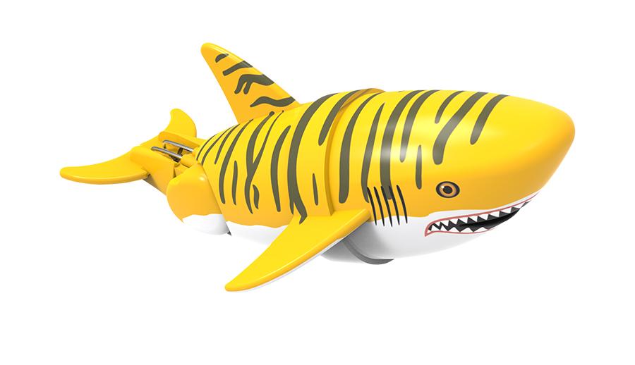 Игрушка для ванной - Акула Тигра-акробатИгрушки для ванной<br>Игрушка для ванной - Акула Тигра-акробат<br>