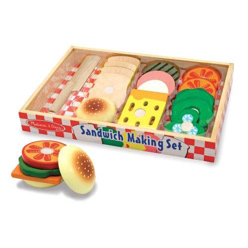 Купить Игровой набор - Делаем сэндвич из серии Готовь и играй, Melissa&Doug