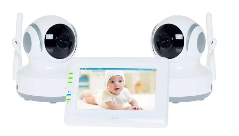 Видеоняня Ramili Baby RV900X2, 2 камеры
