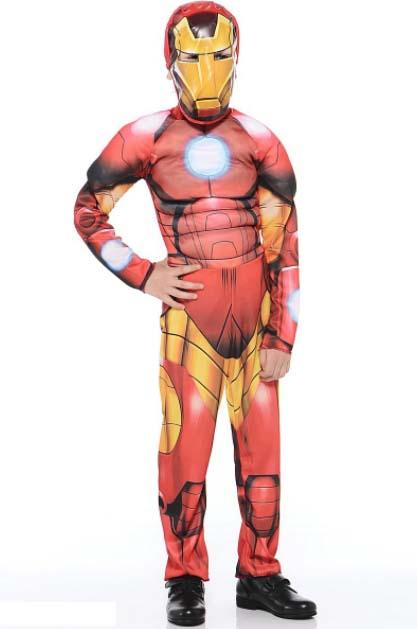 Карнавальный костюм Дисней – Мстители. Железный человек, размер 28Железный человек 3 игрушки<br>Карнавальный костюм Дисней – Мстители. Железный человек, размер 28<br>
