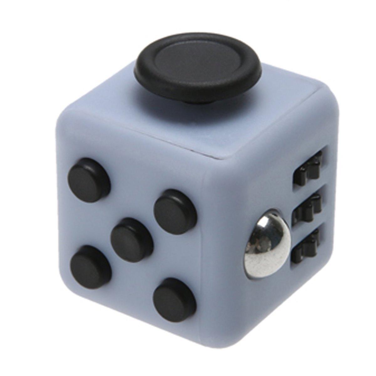 Игрушка-антистресс - FidgetCube Light, серо-черныйАнтистресс кубики Fidget Cube<br>Игрушка-антистресс - FidgetCube Light, серо-черный<br>