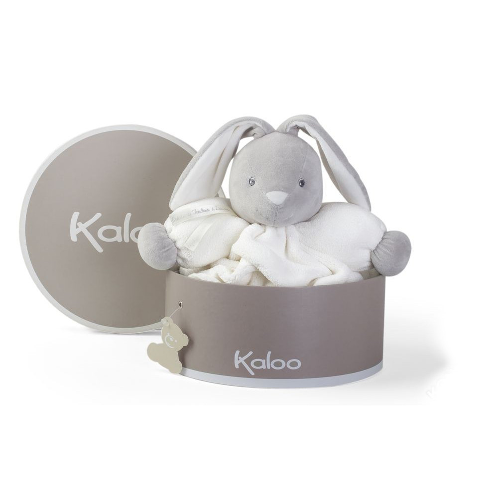 Купить Мягкая игрушка из серии Плюм - зайчик большой кремовый, 30 см., Kaloo