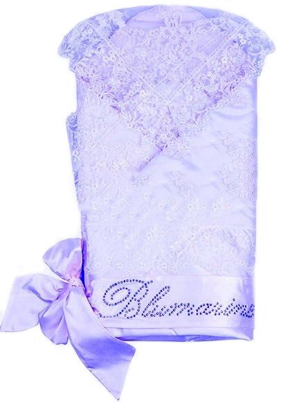 Купить Конверт-одеяло на выписку Asselina - Сказочный, голубой, Мой Ангелок