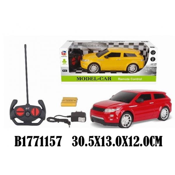 Купить Машина радиоуправляемая на аккумуляторе, свет, usb зарядное устройство, несколько цветов