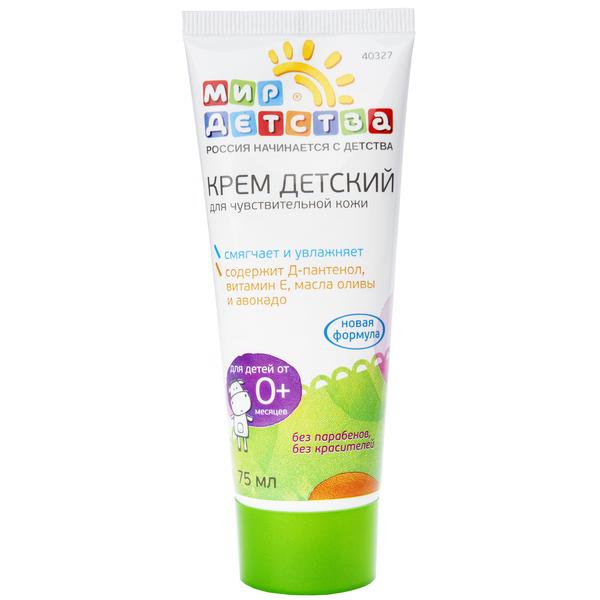 Крем для чувствительной кожи, 75 мл.крема, присыпки<br>Крем для чувствительной кожи, 75 мл.<br>