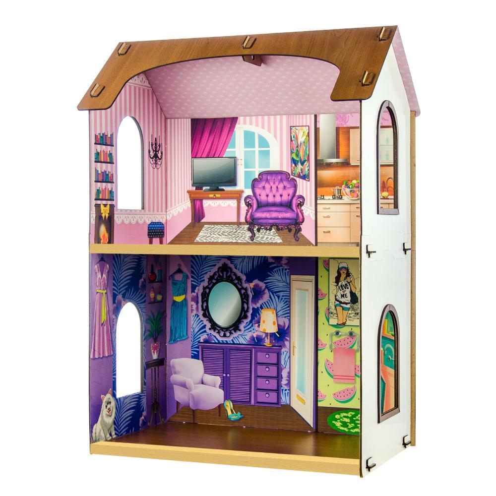 Конструктор - Кукольный домик – Жаклин, высота 70 см фото
