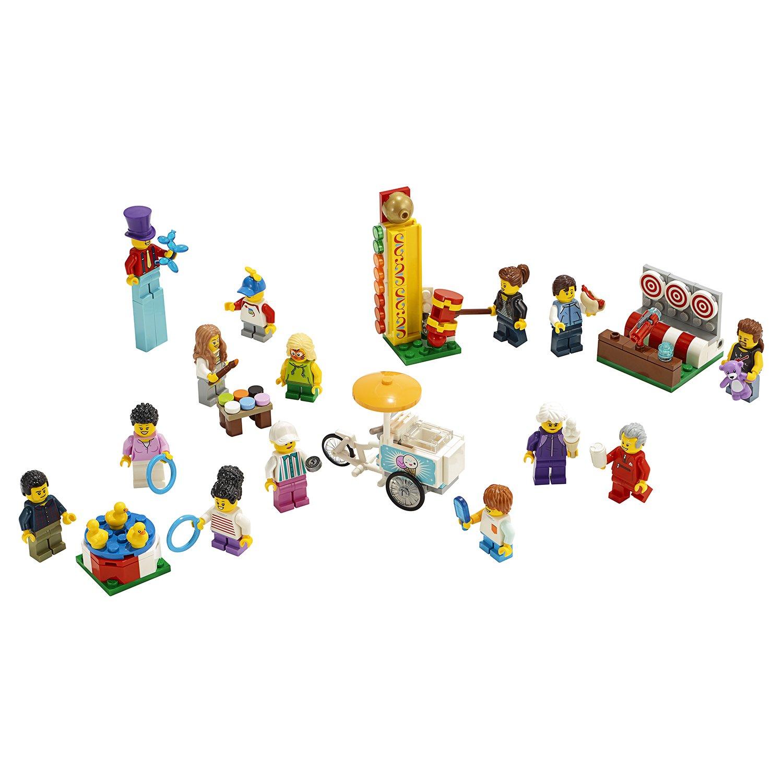 Конструктор Lego Город - Комплект минифигурок Весёлая ярмарка фото