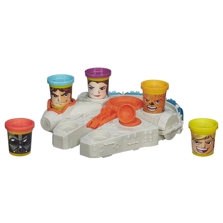 Игровой набор  Тысячелетний Сокол , из серии «Play-Doh» - Пластилин Play-Doh, артикул: 130989