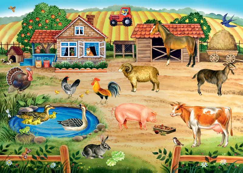 устраивают дома в картинках со зверьми художественном