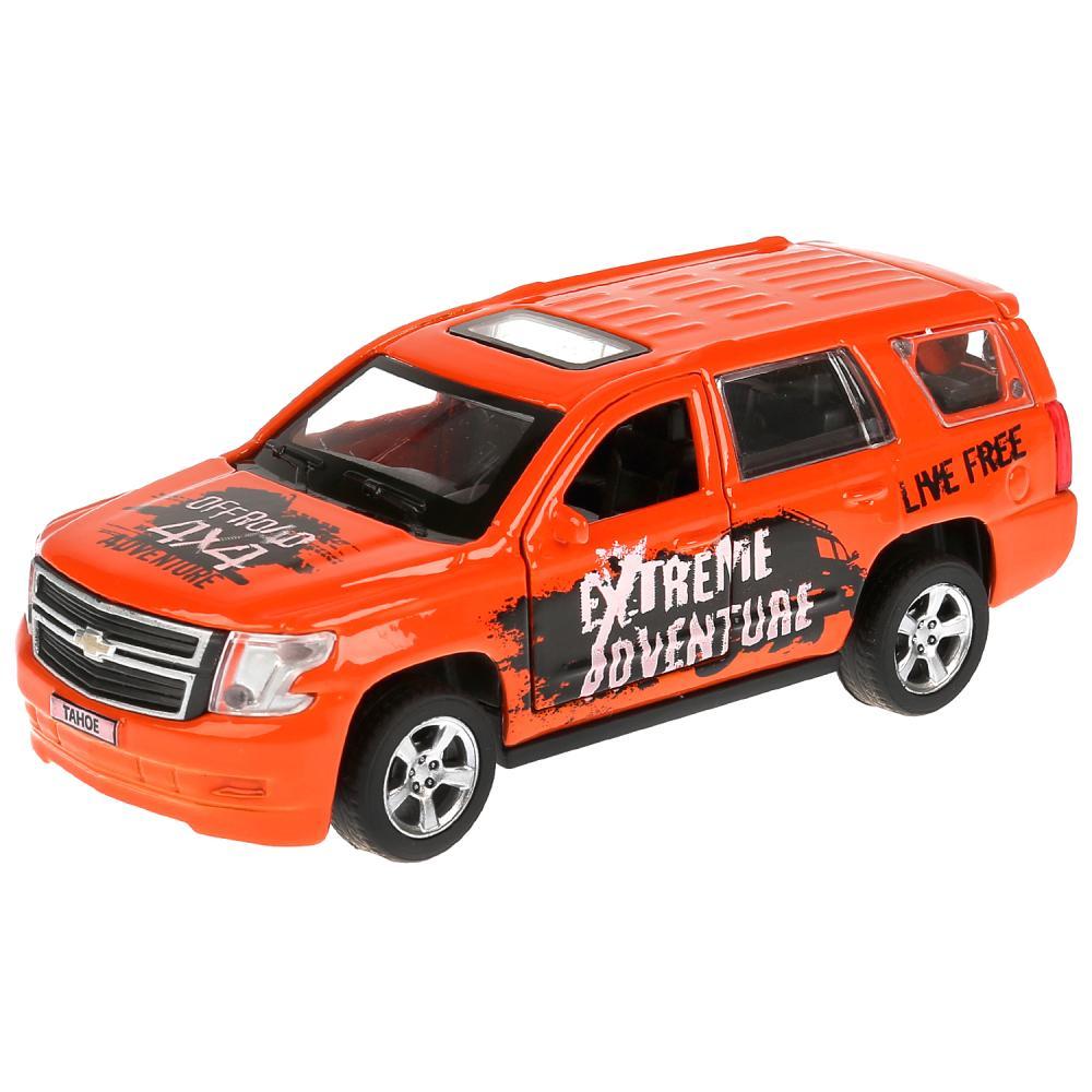 Купить Металлическая инерционная машина - Chevrolet Tahoe Спорт, длина 12 см, Технопарк